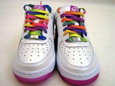 "Nike Air Force One ""Rainbow"" - EU Kicks: Sneaker Magazine"
