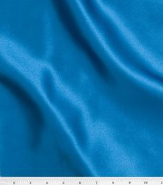 Special Occasion Solids- Stretch Satin Fabric: Blue Radiance for Glinda (A lighter shade then this one.)
