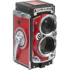 Classic Rolleiflex MiniDigi AF 5.0 Digital Camera (Red) Price: $279.95