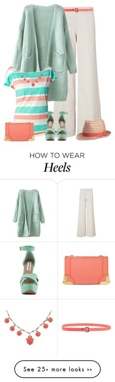 """Untitled #2428"" by smylin on Polyvore featuring moda, J.W. Anderson, Juicy Couture, Gap, Foley + Corinna y Steve Madden"