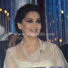 Madhuri Dixit wearing a beautiful #Necklace