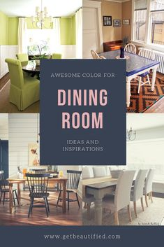 Our dining-room color ideas gallery includes our most popular color design. From modern to standard, obtain influenced by these trendy dining room paint color. #diningroom#paint#color#ideas#design#wall#table