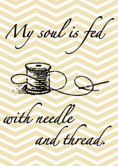 needle and thread free printable