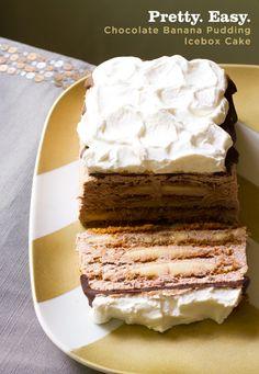 Chocolate Banana Pudding Icebox Cake Recipe from www.aidamollenkamp.com