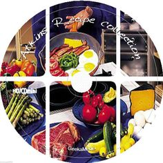 Atkins Diet Recipe Collection cd Low Carb High Fiber Protein Health Weightloss