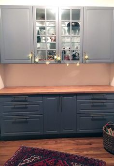 Mary's Ikea cabinets // by design episode #28: Rooted Chicago – { by design }