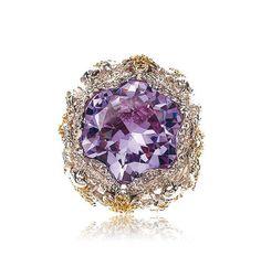 Tiny Flight Ring by Samantha Wills Purple Hues, Shades Of Purple, Purple Gold, Purple And Black, 50 Shades, Purple Jewelry, Purple Rings, Mauve, Bohemian Rings
