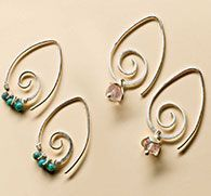 Simple earring wires