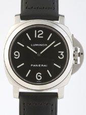 最高級パネライスーパーコピー パネライ時計コピー ルミノールベース zPAM00112 44mm シースルーバック ブラック