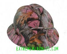 Extreme Hardhats Pink Camo Hard Hat