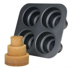 Because single cupcakes aren't enough... A 3 tier single cake pan!