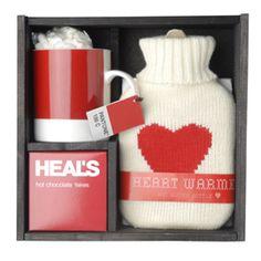 cozy hot chocolate gift