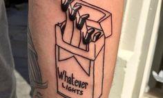 Les tatouages tout en retenue du Paris Tattoo Club - http://www.leshommesmodernes.com/paris-tattoo-club/