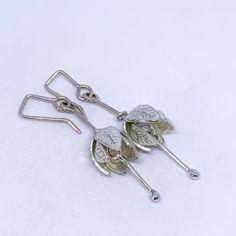 HerbertandWilks Jewellery Fuchsia Flower, Flower Petals, Jewelry Box, Silver Jewelry, Jewellery, Linen Bag, Sterling Silver Flowers, Flower Pendant, Flower Earrings