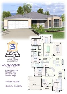 Single Builders I Scarborough House Plan