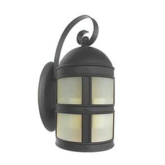 Antique Inspired Wall Light in Black