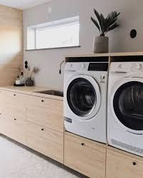 Laundry Closet, Small Laundry, Laundry In Bathroom, Home Building Design, Home Room Design, Building A House, Laundy Room, Happy New Home, Laundry Room Layouts