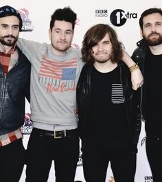 my fave band! Bastille! (Kyle, Dan, Woody, and Will)
