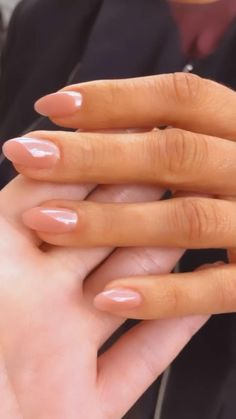 Blush Pink Nails, Red Nails, Nail Spa, Manicure And Pedicure, Manicure Ideas, French Nails, Gorgeous Nails, Pretty Nails, Ongles Or Rose