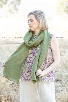 Obi Scarf | Lichen Gauze Gauze Fabric, Shawl, How To Make, How To Wear, Cover Up, The Incredibles, Style Inspiration, Breeze, Pride