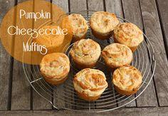 Half Baked: Pumpkin Cheesecake Muffins