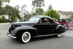 1938 Lincoln Zephyr Coupe.