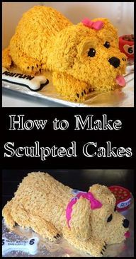 How to make Sculpted Cakes