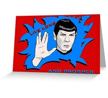 Spock Greeting Card!