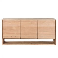 NORDIC OAK SIDEBOARD - 3 DOORS - Cabinets - Shelving & Cabinets - Living - HD Buttercup Online – No Ordinary Furniture Store – Los Angeles &...