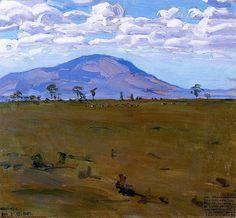 The Athenaeum - Wakamba Plain (Akseli Gallen-Kallela - ) Chur, Mountain Art, Mountain Landscape, Nordic Art, Canadian Art, Impressionist Art, Landscape Paintings, Landscapes, Figurative Art