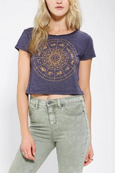 Truly Madly Deeply Circular Celestial Tee
