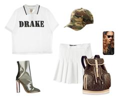 """""""Untitled #4428"""" by teastylef ❤ liked on Polyvore featuring adidas Originals, American Apparel and Charlotte Russe"""