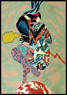 'Azumi' // Giclee print