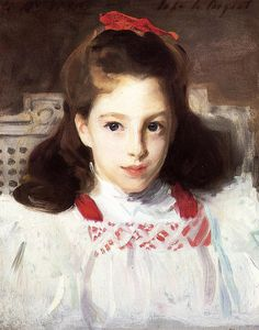 John Singer Sargent - Portrait of Miss Dorothy Vickers