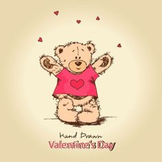 love teddy bears background 03 vector