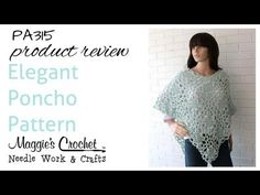 Elegant Poncho Product Review PA315 - YouTube