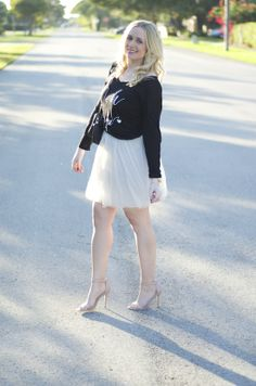 How to style a tulle skirt | Fancy Things Blog