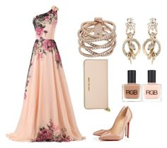 """""""Untitled #15"""" by bsenid ❤ liked on Polyvore featuring CO, Christian Louboutin, Michael Kors, Roberto Cavalli and RGB"""
