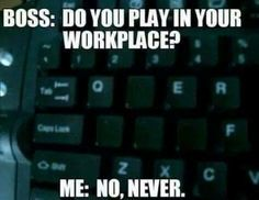 PC gamers would understand