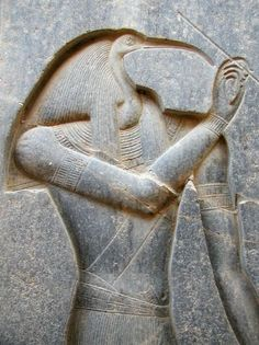 Thoth is the Egyptian god of writing, magic, wisdom, and the moon. He was one of the most important gods of ancient Egypt alternately said to be self-created or born of the seed of Horus from the forehead...