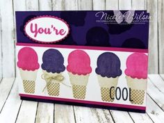 """Cool Treats """"You're Cool"""" card"""