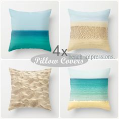 Pillow Covers - Beach Impressions ...