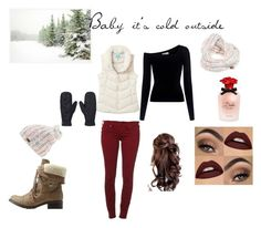 """Baby it's cold outside"" by k2wied43 on Polyvore featuring Charlotte Russe, True Religion, A.L.C., Joules, Pottery Barn, Roxy and Dolce&Gabbana"