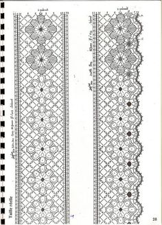 Álbumes web de Picasa Bobbin Lace Patterns, Embroidery Patterns, Crochet Patterns, Bobbin Lacemaking, Lace Border, Lace Making, Hand Weaving, Diy And Crafts, Projects To Try