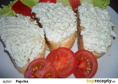 Česnekovo-nivová pomazánka recept - TopRecepty.cz Fast Dinners, Canapes, Food 52, Party Snacks, Food And Drink, Appetizers, Cooking Recipes, Yummy Food, Homemade