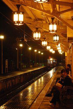 Hankyu Railway Arashiyama Station, Kyoto, Japan 阪急嵐山駅