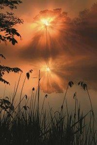 Amazing Sunrise Reflection