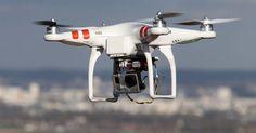 Um drone viaja do Norte ao Sul de Israel