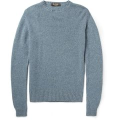 Loro Piana Baby Cashmere Crew Neck Sweater