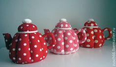 Купить Троица. Чайник текстильный - розовый, шкатулка ручной работы, емкость для хранения, чайный домик
